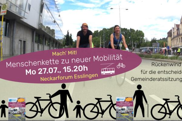 Esslinger Meilensteine für stadt- und klimagerechte Mobilität