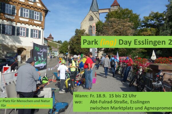 Programm zum Park(ing)Day