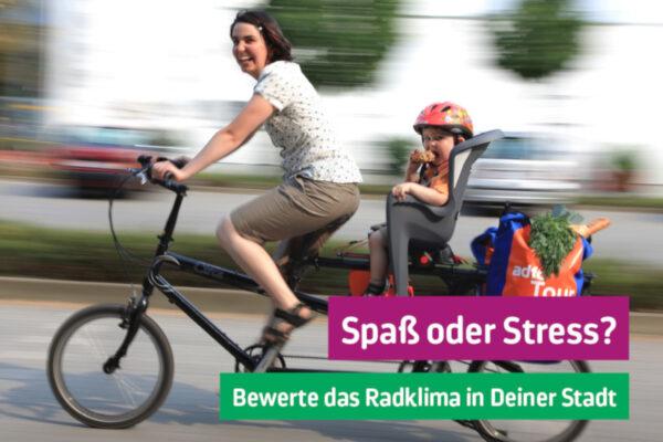 Fahrradklimatest: Bis Ende November abstimmen!