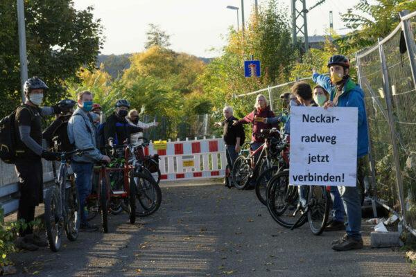 Neckarradweg jetzt verbinden