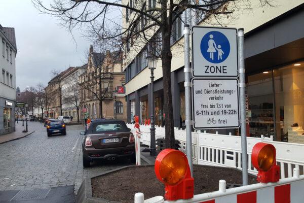 Fußgängerzone Ritterstraße