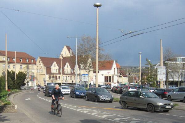 Maille-Kreuzung Esslingen