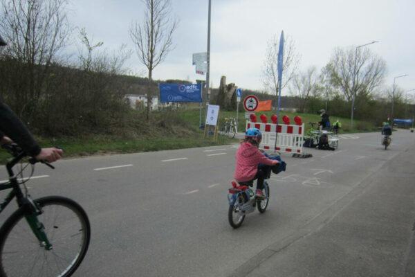 Sicherer Rad(schnell)weg mit Abstand