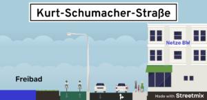 streetmix Kurt-Schumacher-Straße