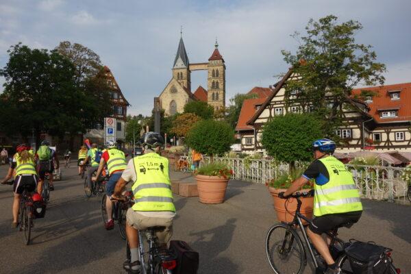 Esslinger Critical Mass startet wieder am Fr. den 18.6.2021