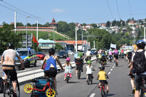 """KidicalMass zum Schulangfang: """"Sicher Radfahren für groß und klein"""""""