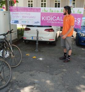 KidicalMass vorm Start am Marktplatz